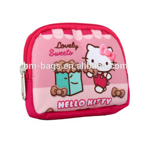 Fournisseur chinois Bonjour Kitty joli portefeuille fille sac à main