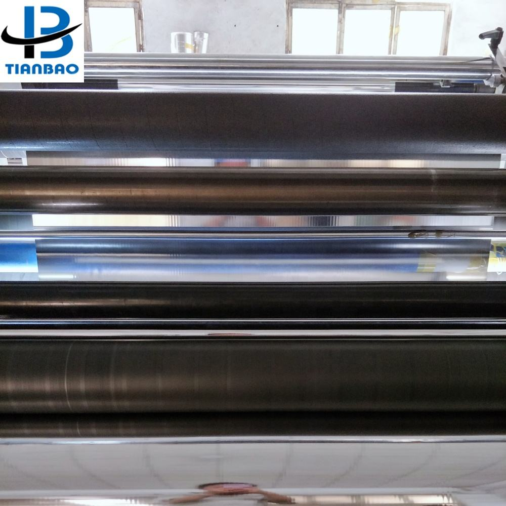 CPP BOPP PET PVC PE Metallized Film