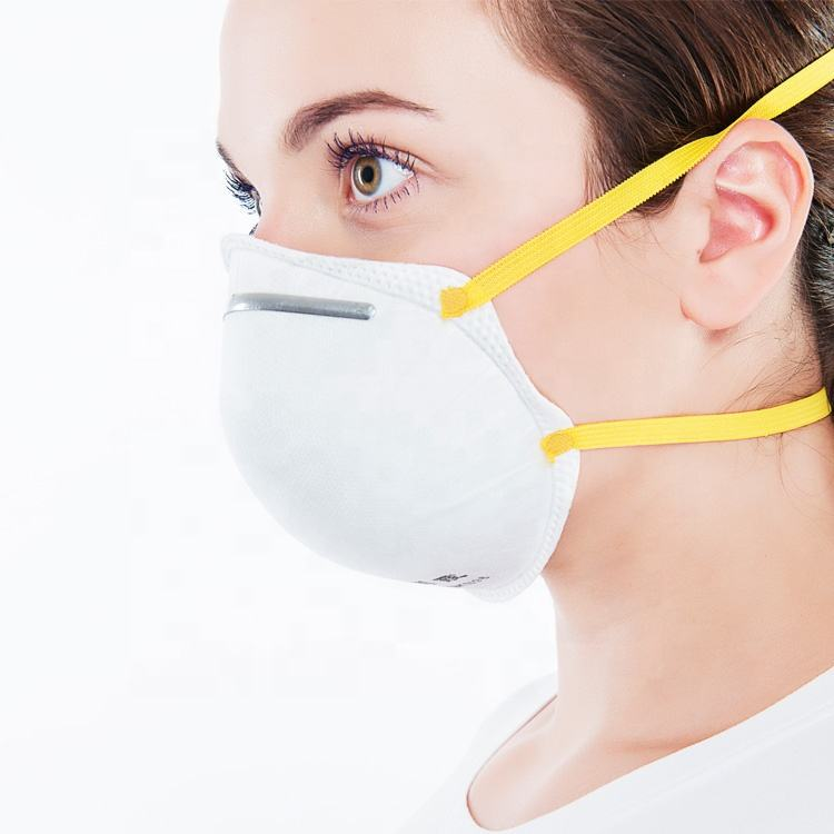 GB2626-2006 Certified Cone Dust Mask for Non-oil Based Particles