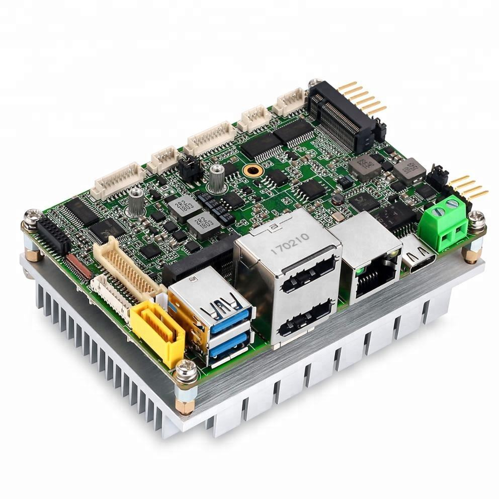 Mini Größe Pico-ITX Fanless <span class=keywords><strong>Motherboard</strong></span> mit Intel Gemini See N4100/J5005 CPU Single Board Computer ENC-G998