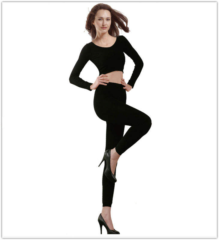 Wholesale Fashion girls inner fleece winter thick cotton leggins