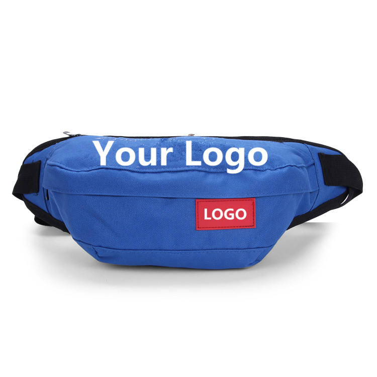 custom printed Fanny Pack fashion Sport Travel Cycling hip bum bag waterproof