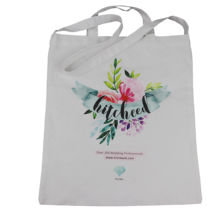 Custom tote canvas bag promotion
