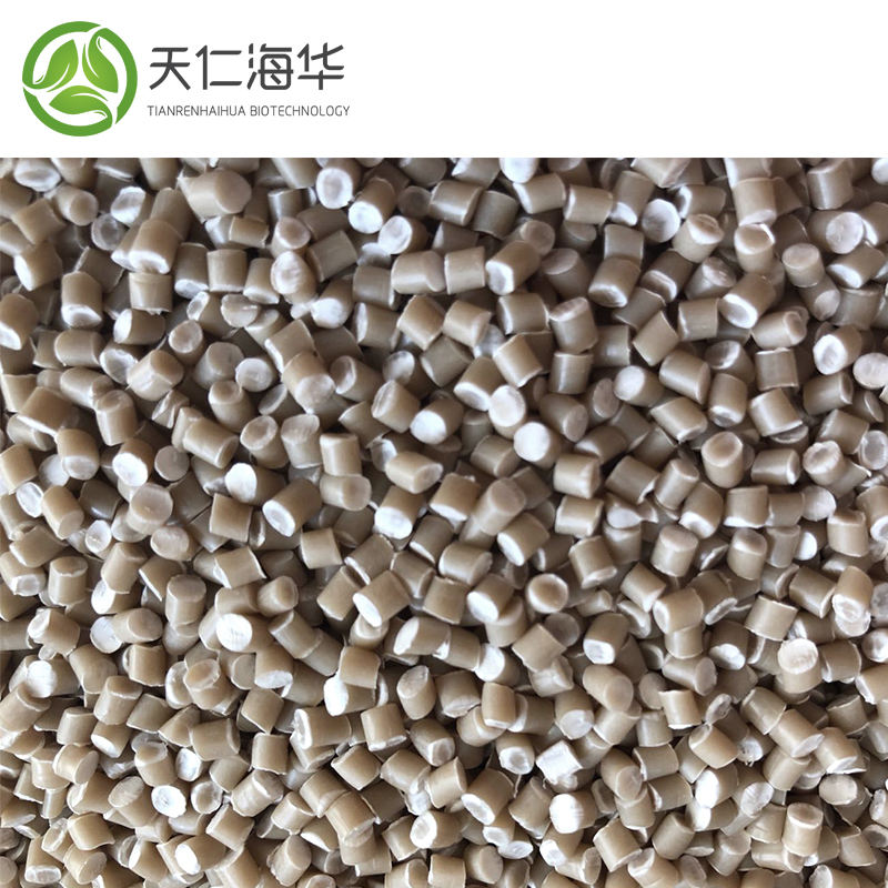 Corn Starch Based Biodegradable Raw Material for T-Shirt Bags