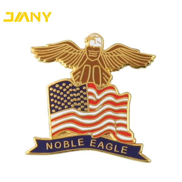 Factory Directly Custom Made Noble Eagle Lapel Pin