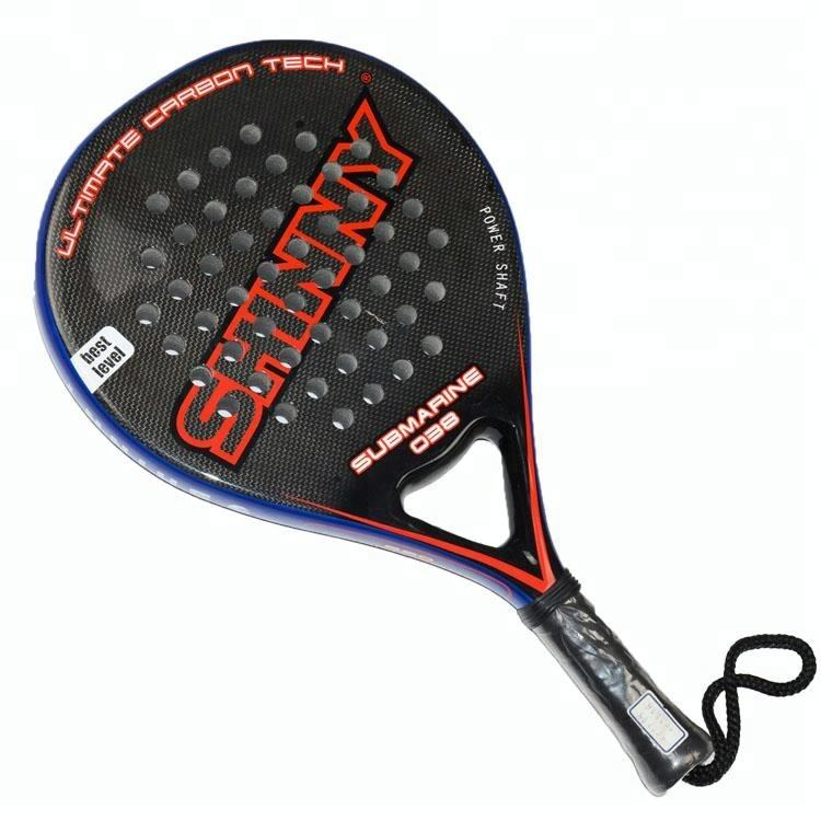 3 K graphite strand paddle <span class=keywords><strong>racket</strong></span>