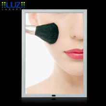 snap frame light box magic mirror display advertising led magic mirror