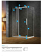 Sonlam Hotselling Hot Quality Glass Bath Steam Shower Cabin Room