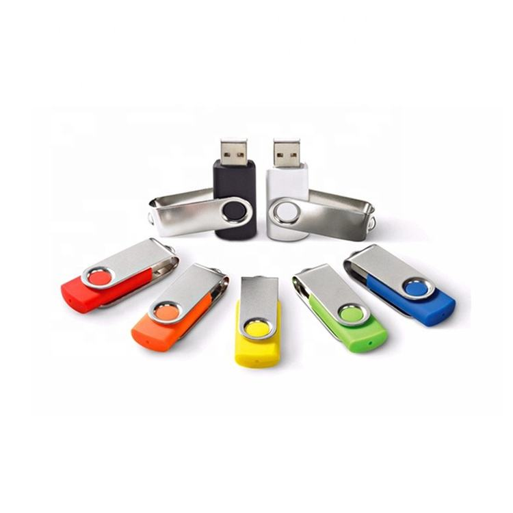 Wholesale Cheap Usb 2.0 3.0 Swivel usb Flash Drives Pendrive Custom LOGO 4Gb 8Gb 16Gb 32GB 64GB 128GB 256GB 512GB USB Stick