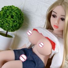 JND28-65cm big big breast sex doll full TPE silicone sex doll toy vagina oral anus online for men sex