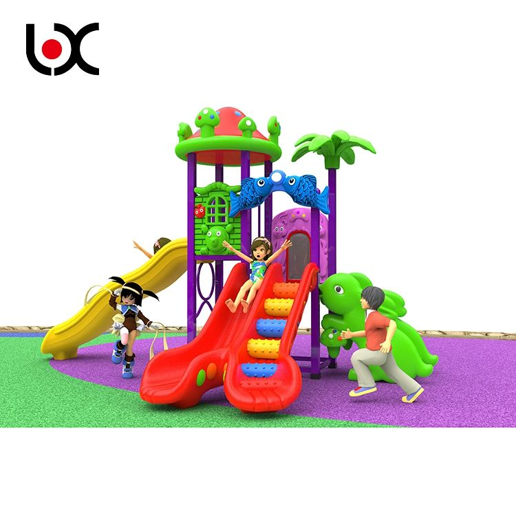 New design Plastic Slide Outdoor Playground Equipment, Kids Playground