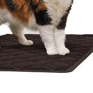 Pet Supplies Durable Large Size Cat Litter Mat With Company Logo