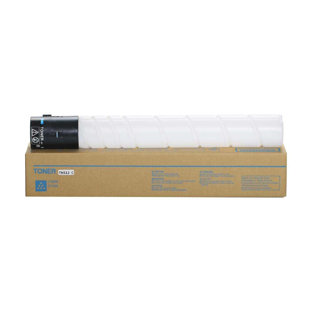 Compatible TN512 Color Toner Cartridge for Konica Minolta Bizhub C454 C554