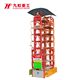 Automatic smart vertical rotary car parking system