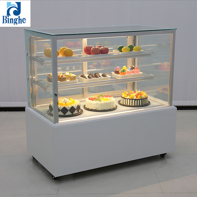 2019 new product deli fresh meat cooling display refrigerator showcase for supermarket