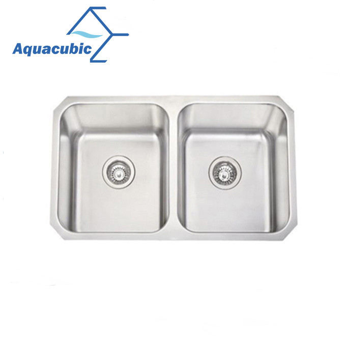 New design handmade Undermount Molded kitchen sinks stainless steel