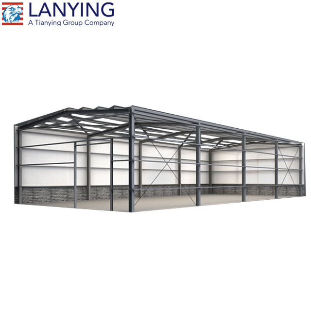 Prefabricated warehouse and prefab warehouse
