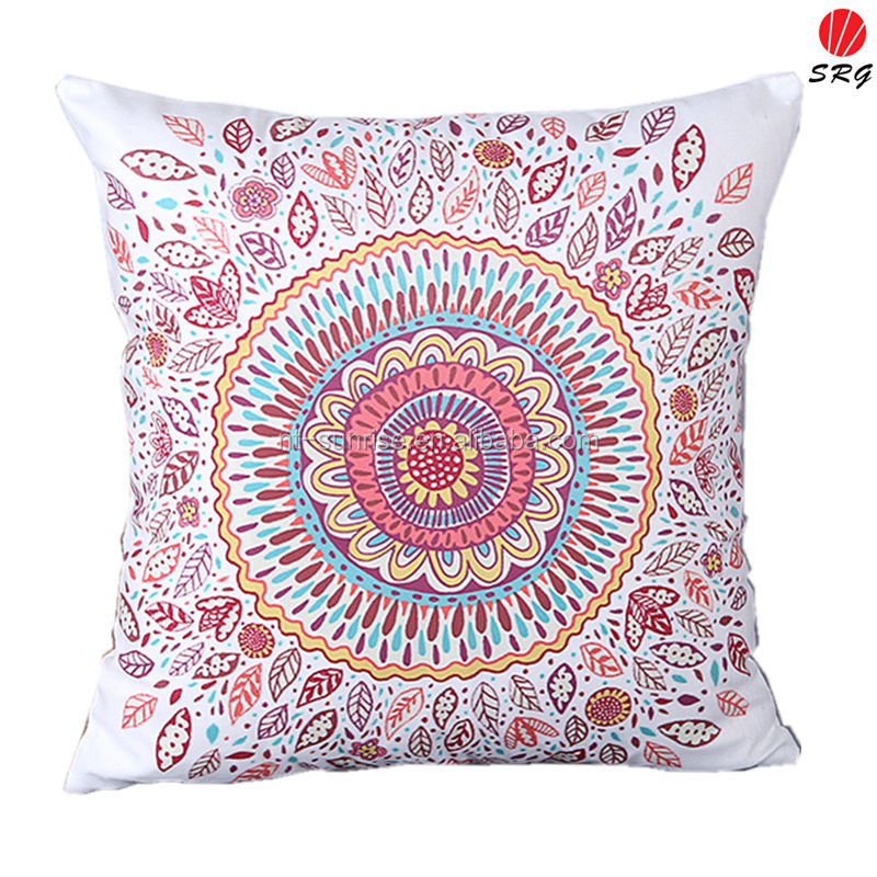 wholesale ebay hot selling product flower round circle radial design vision limit national wind cushion chinese chair cushion
