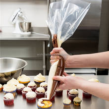 Customized Printing Acceptable Food Grade Sticky Pastry Piping Bag, Cake Decorating Icing Bag