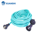 Home Appliance Travel Extension Cord Japan 2 Pin Waterproof Outdoor Travel Extension Cord