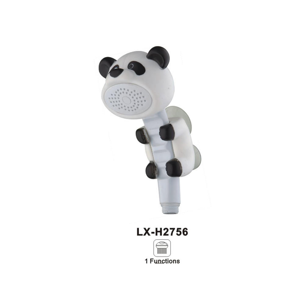 2017 Hot selling cartoon animals kids hand shower rainfall with LX-H2756