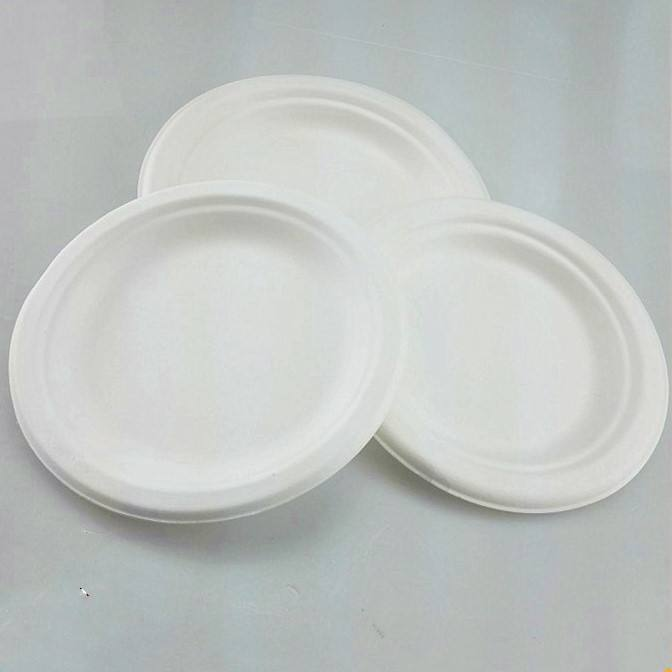 Wholesale Biodegradable Disposable Corn Starch Plate