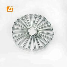 Galvanized flat head Clout Nails with Ring Shank for roofing