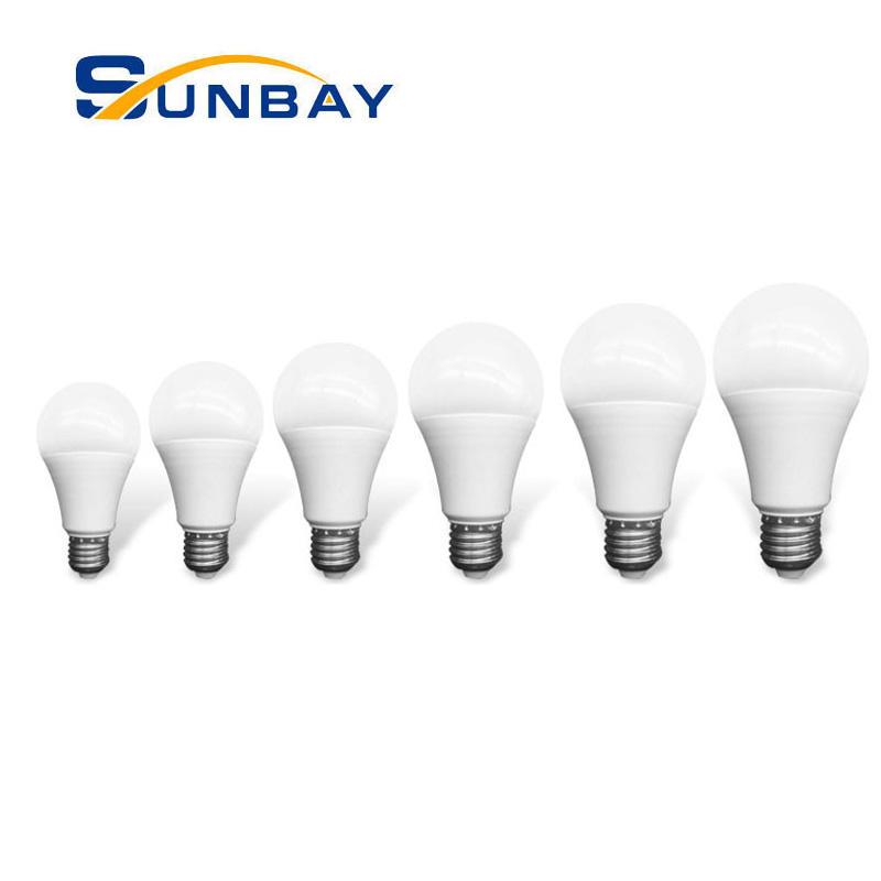 led factory foshan E27 B22 base 3 5 7 9 12 15 18 watt dimmable led bulb 110lm/w