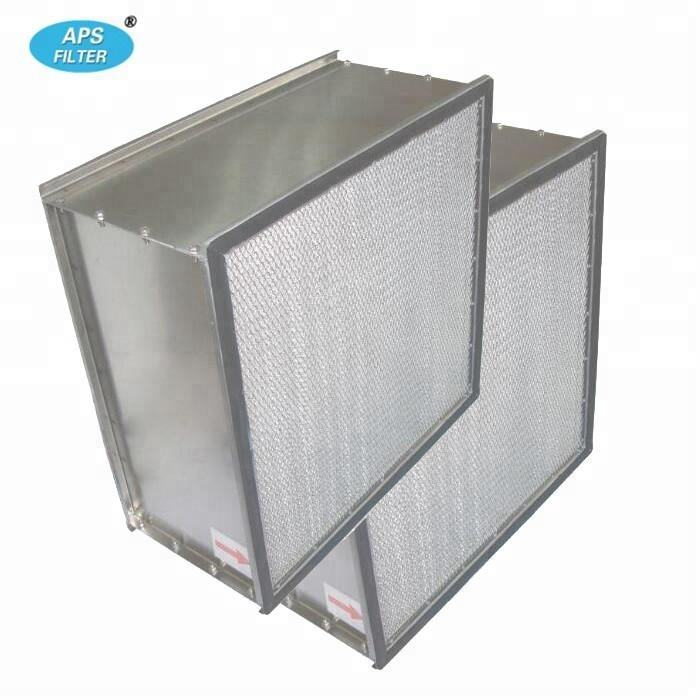 industrial aluminum frame H13 hepa air filter 610*610*292 for clean room