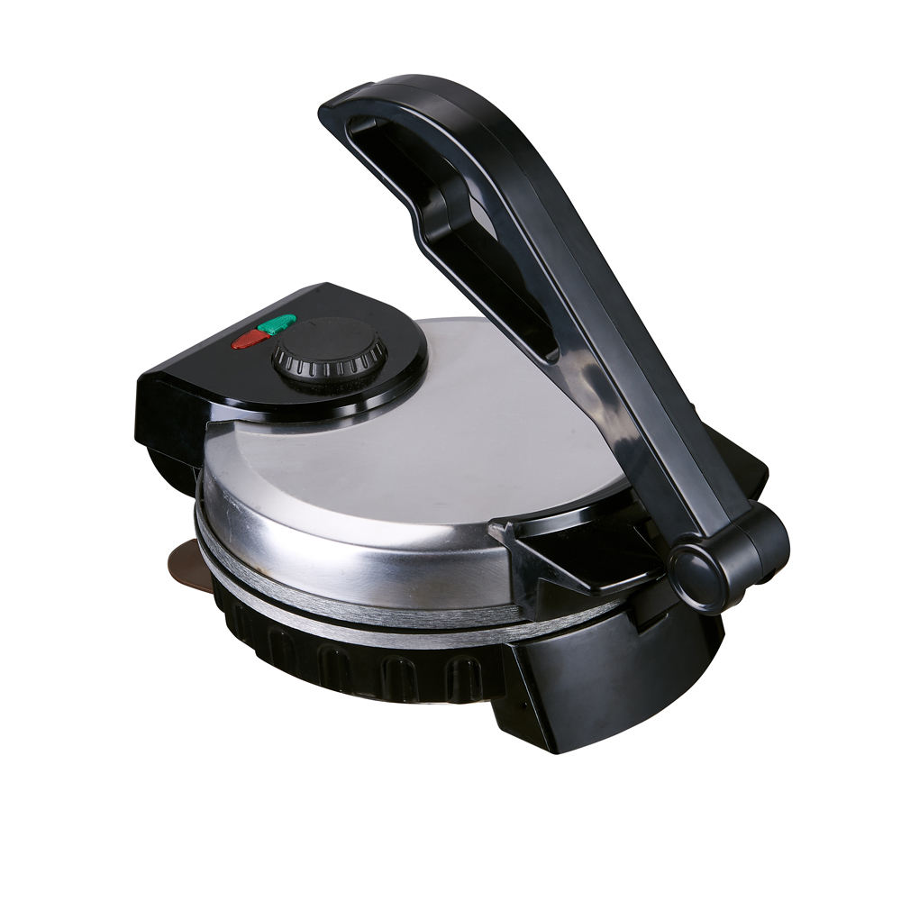 "hot selling new design stainless steel india 8"" roti maker crepe crepe maker and hot plate"