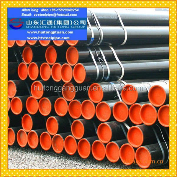 Hot Rolled And Cold Drawn Galvanized tube Carbon Steel Sealess ASTM A106B B36.10 A53B Pipe