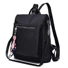 Fashion Women Large Capacity Bag Portable Anti-theft Backpack Tide Bag Ladies Oxford Cloth Shoulder bag