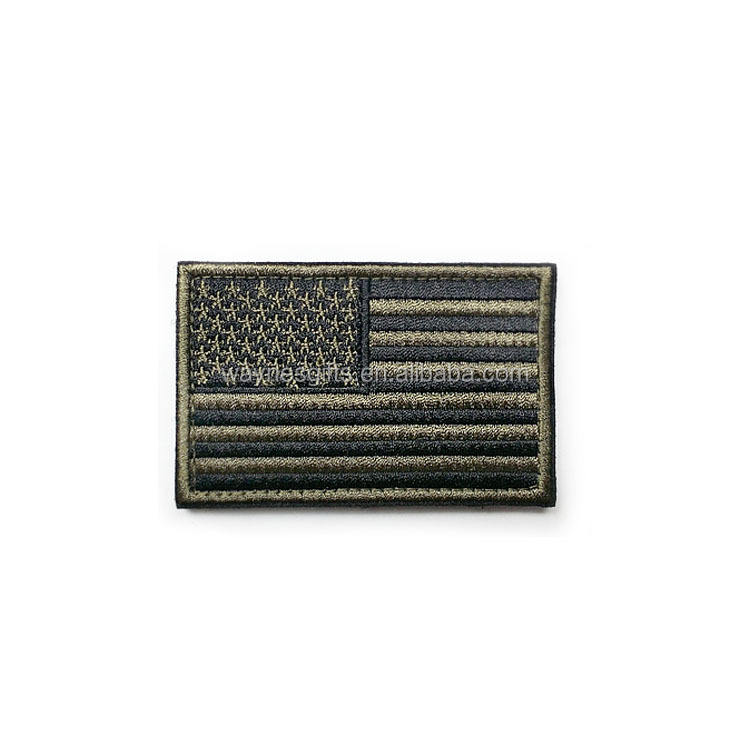 Tactical Morale USA American Flag Embroidered Patches