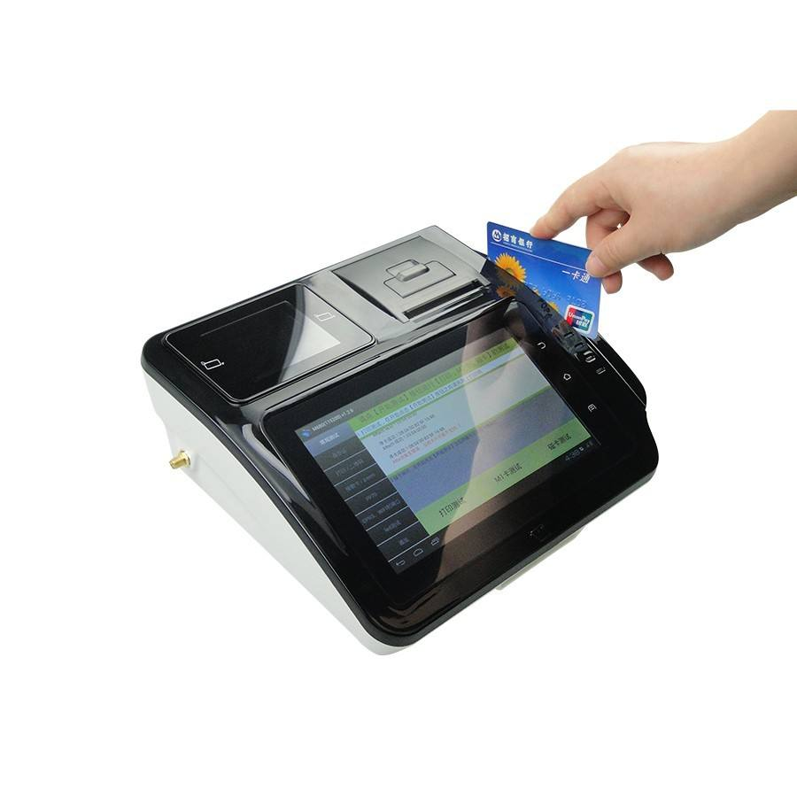 Grote verkoop Touch Screen Android POS Systeem, Android POS Terminal met printer & QR Code Scanner