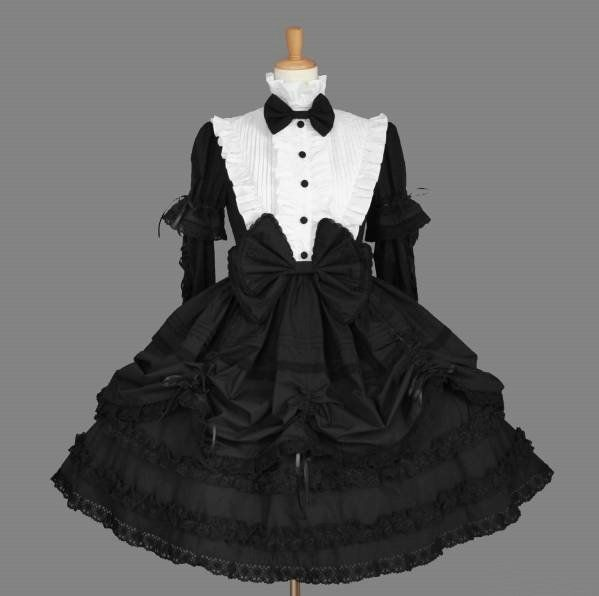 Wholesale halloween costumes Lolita japanese girl cosplay anime dress maid cafe costume