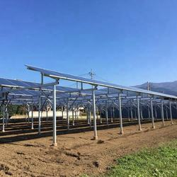 China factory EDRI solar Agriculture farm land mounting system