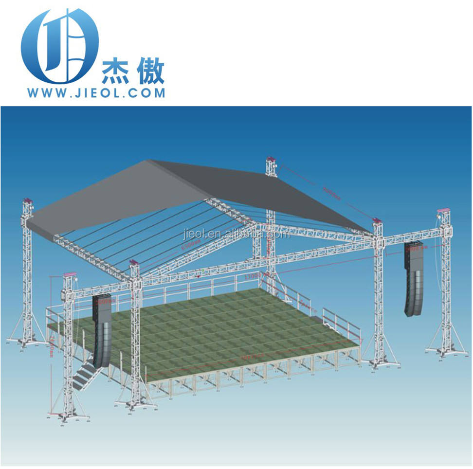 Aluminum theatre stage lighting truss