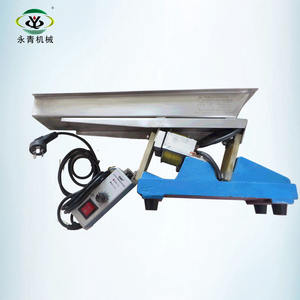 Auto packing electromagnetic vibrating feeder machine