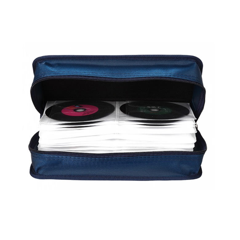 Portable Wallet Disc Storage Holder DVD CD Bags & Cases for Car