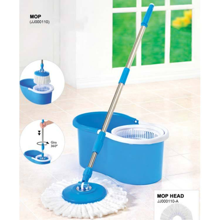 Household Kitchen Floor 360回転Mops Floor Cleaning Mop Cheap Hot Sale Magic CottonまたはMicrofiber Bucket Mop