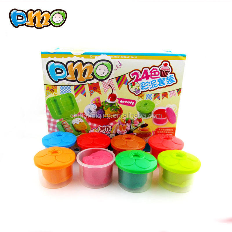 Game toy new product 24color intelligent magnetic play dough for kids
