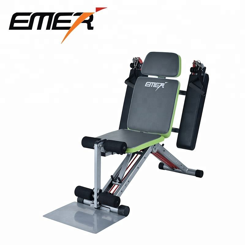 Smart Total Core Abdominal exercise training fitness equipment multifunctional chair body building machine outdoor gym device
