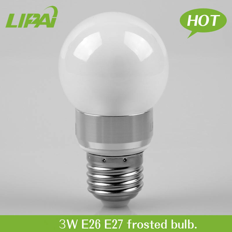 Energy power saving bulb 3W E26 E27 B22 frosted milk dimmable led bulb
