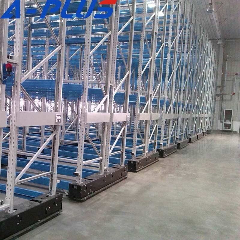 Space saved High Density storage electrical Mobile Racking system