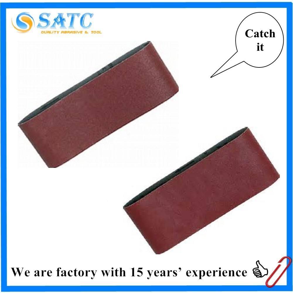 Abrasivos bandas abrasivas para el pulido y rectificado de metal y acero inoxidable