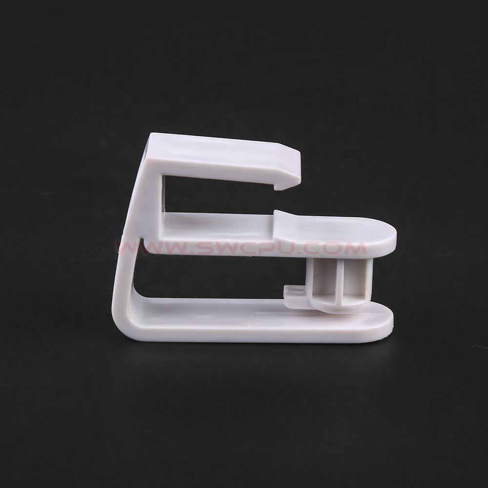 customized abs plastic corner brackets pipe mounting plastic mounting bracket