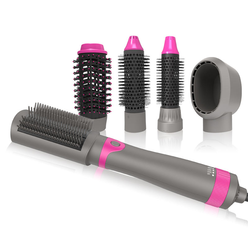 Interchangeable Hair Brush Dryer Hot Air Brush Salon Equipment