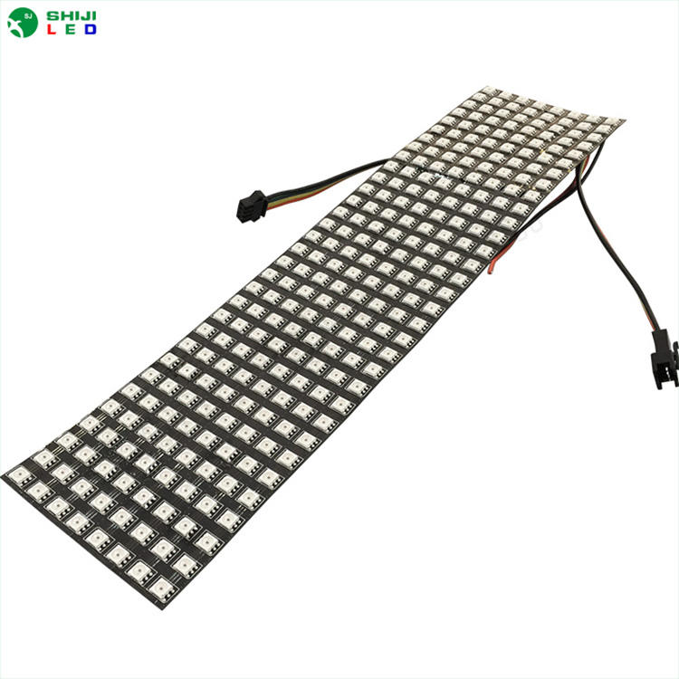 SMD5050 apa102c programmeerbare flexibele display p10 matrix diy rgb Led Pixel Video Muur