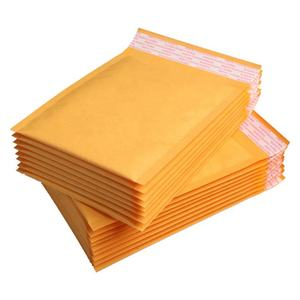 11*15CM Kraft Paper Bubble Envelopes Bags Mailers Padded Shipping Envelope With Bubble Mailing Bag Business Supplies