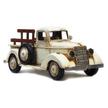High Quality Iron Crafts Retro Truck Model Handmade Metal Decor Vintage Truck Model For Pub Home Office Shop Tabletop Decor